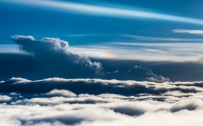 Картинка небо, пейзаж, природа, облока