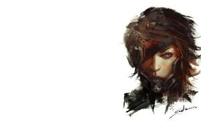 Картинка ниндзя, киборг, konami, raiden, platinum games, Metal gear rising: revengeance