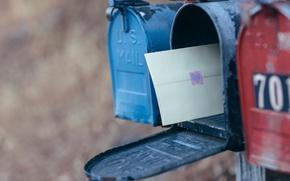 Картинка письмо, послание, почтовый ящик