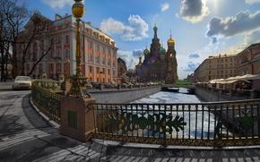 Картинка Питер, Санкт-Петербург, 155, собор, канал