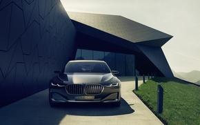 Картинка BMW, Vision, Future, 2014, Luxury Concept