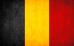 Картинка Флаг, Бельгия, Belgium, Flag