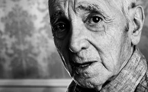 Картинка портрет, Charles Aznavour