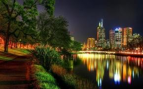 Картинка ночь, река, фотосьемка, сьемка, страны
