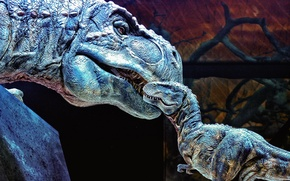 Картинка монстр, динозавр, tirex, тирекс, мать и ребенок