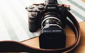 Картинка макро, камера, SONY A7M2