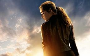 Картинка Emilia Clarke, Sarah Connor, Terminator 5, Terminator Genisys, Терминатор 5
