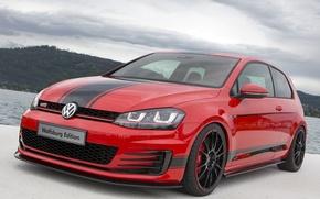 Картинка Volkswagen, Golf, GTI, Edition, Wolfsburg