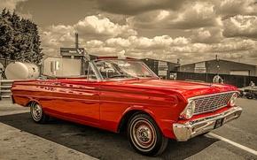 Картинка ретро, классика, 1964, Ford Falcon