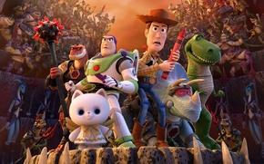Картинка sword, Pixar, armor, hat, cat, cartoon, hybrid, fear, weapons, Walt Disney, swords, spears, drawing, lizard, …
