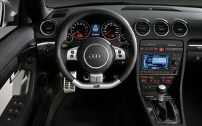 Обои Audi, бар, салон, RS 4
