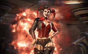 Картинка Batman, Harley Quinn, Injustice