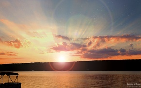 Картинка landscape, sunrise, breakingdawn