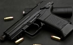 Картинка Германия, Heckler & Koch, .45 ACP, автоматический пистолет под американский патрон 11, 43×23 мм, HK45C