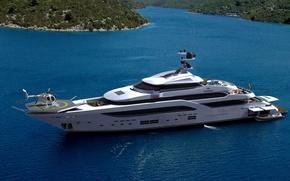 Картинка luxury, yacht, motor, steel mega yacht
