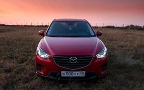 Картинка red, Mazda, кроссовер, suv, CX-5, Кирилл Куликов