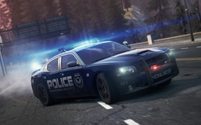 Картинка Dodge, SRT8, NFS, 2012, Charger, police, Need for speed, Most wanted