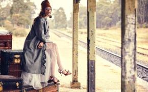 Картинка Australia, Vogue, retro-inspired vintage story, Ondria Hardin