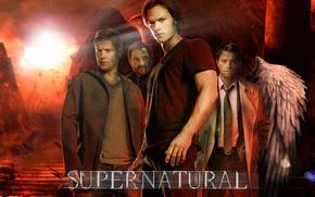 Картинка supernatural, dean winchester, sam winchester, hell, dreampiks