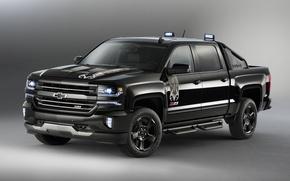 Картинка фон, Chevrolet, шевроле, пикап, Silverado, сильверадо