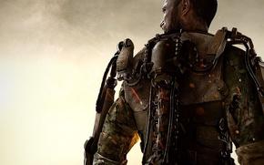 Картинка Солдат, Экзоскелет, Военный, Activision, Экипировка, Sledgehammer Games, Call of Duty: Advanced Warfare