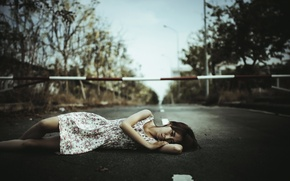 Картинка взгляд, девушка, улица