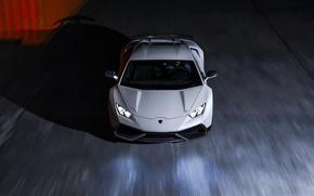Картинка Lamborghini, Front, White, Supercar, Novitec, Torado, Huracan, LP640-4