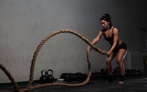 Обои rope, training, crossfit