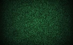 Обои плитка, зеленый, мозаика