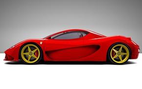 Картинка Ferrari, 2004, Berlinetta, Aurea