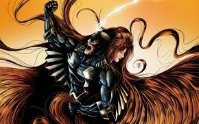 Картинка медуза, MARVEL, Марвел, medusa, Inhuman, Нелюди, Black Bolt, Черный гром