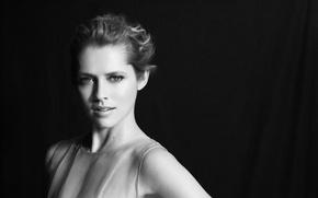Картинка актриса, блондинка, черно-белое, Teresa Palmer, Тереза Палмер