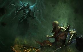 Картинка art, diablo 3, monk, Malthael
