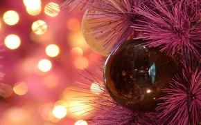 Картинка зима, игрушки, новый год, рождество