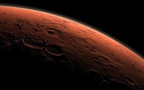 Картинка поверхность, фото, планета, марс, рельеф