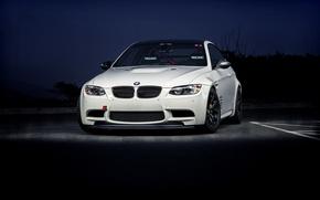 Картинка BMW, white, front, E92