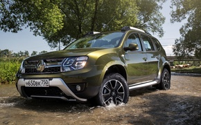 Обои Renault, рено, 2015, RU-spec, Duster