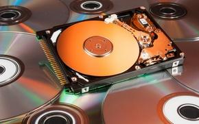Картинка hi-tech, HDD, жёсткий диск