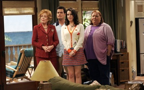 Обои сериал, актеры, персонажи, Роуз, Чарли Шин, Чарли Харпер, Два с половиной человека, Two and a ...