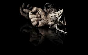Обои руки, перчатки, кулаки