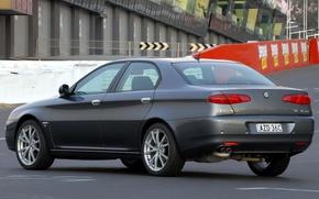 Картинка Alfa Romeo, Car, Alfa, Romeo, Back, Sedan, Track, 166, Alfa Romeo 166, Alfa 166