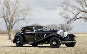Обои автомобиль, mercedes benz, 540k, cabriolet, classic, cars