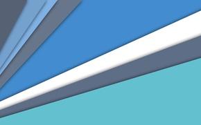 Картинка белый, линии, синий, голубой, текстура, material
