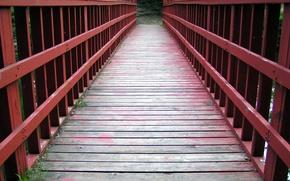 Обои дорога, мост, жизнь, путь
