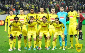 Картинка желтый, команда, махачкала, анжи