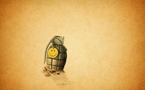 Картинка граната, battlefield, смайлик, company, bad