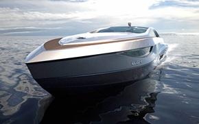 Картинка Dragon, Speed, Boat, High, Motor, Futuristic