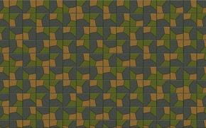 Картинка мозаика, фон, стена, обои, узор, плитка, пол, Текстура, квадрат