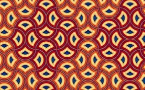 Обои фон, линии, цвет, рисунок, фигуры, орнамент, узор, текстуры