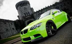 Картинка зеленый, фото, обои, cars, auto, wallpapers, BMW M3
